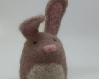 Needle Felted Spring Bunny Hanging Decoration
