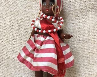 1960's Souvinir Doll, Rio de Janeiro