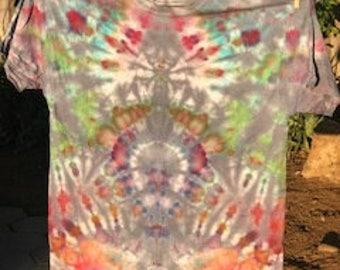 tie dye colorful psychedelic style
