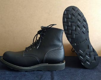 Casual Ankle Boots Vegan Vibram Christy Sole Handcrafted