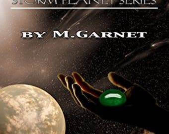Custom ebook covers, book covers, 'Storm Slave' example of currently selling ebook