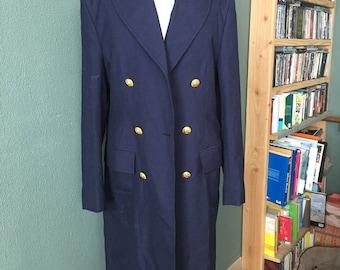 Vintage navy jacket