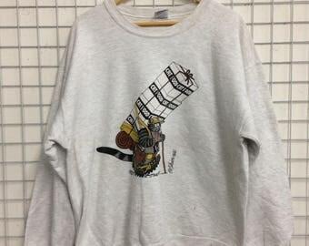 Vintage Crazy shirts Hawaii Bkliban made in usa nice design