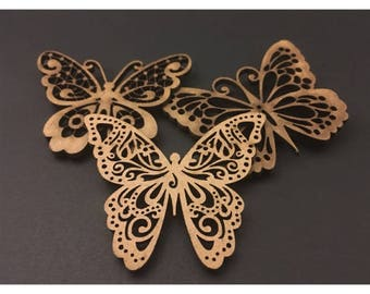 Butterfly Magnets (set of 3)