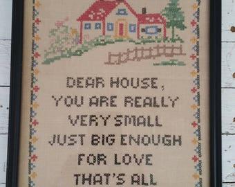 Vintage Sampler For Your Home