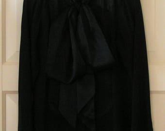 Karl Lagerfeld, black silk blouse, It. size 42, Eu size 38