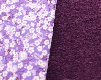 Purple snood for children