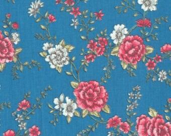 fabric, 5 m, Scandinavian, flowers, roses, English, in 5 metre lengths, design