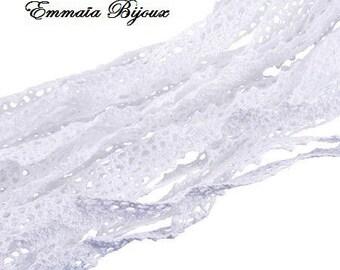 50 cm white lace cotton lace *.