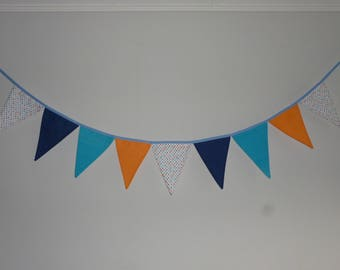 Bunting decorative dots and plain