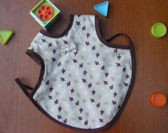 "Bib apron ""Autumn leaves fly"""