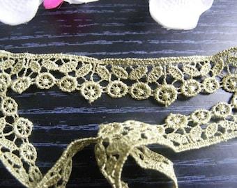 Ribbon lace flower 65 cm x 1.50 cm