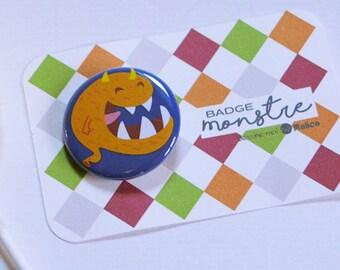 Monster TOD - diameter 32 mm badge
