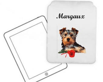 Personalized with name Yorkshire pc Tablet case