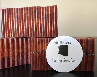 Tea Tree Shave Bar // Handmade Soap