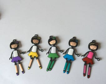 articulated doll flower