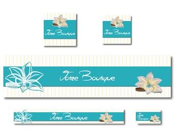 Etsy banner shop tiare flower