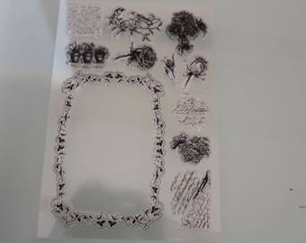STAMPS CLEAR STAMPS flowers
