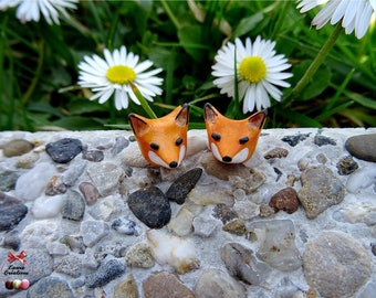 Smart Fox earring