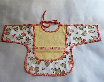 Bib apron baby girl