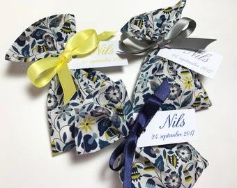 Set of 26 customized Liberty Bobo sweets bags