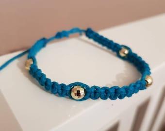 Hemp shambala bracelet