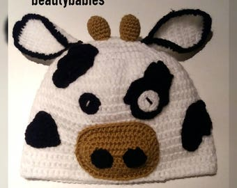little cow hat size 6 months