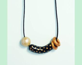 Handmade Necklace by HESUKINAE STUDIO,