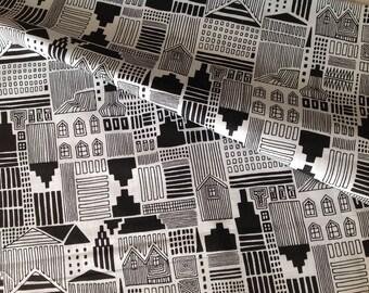 100% cotton fabric, Deco, New York