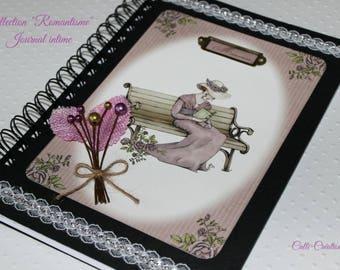 Souvenir, gift idea for woman, romantic journal notebook