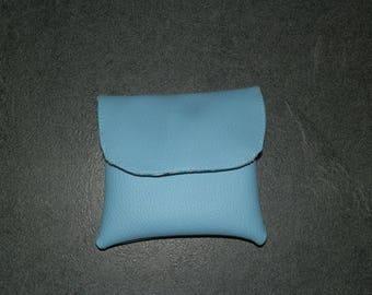 handkerchiefs in leatherette case