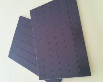 Magnetic tape Black 10.2 * 1.2 cm