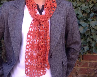 "scarf lace silk collection ""variation"""