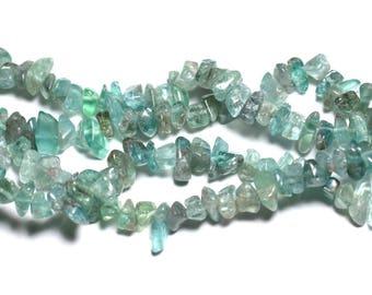 10pc - stone beads - beads 5-12mm 4558550023858 kyanite Chips
