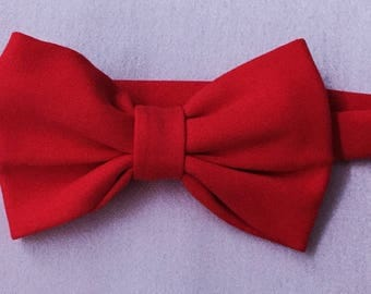 Red boxtie red bow tie