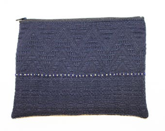 Midnight Blue clutch