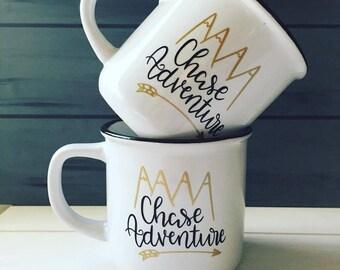 Retro Style Camping mugs!