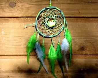 Catch dreams tones green / real 30 cm
