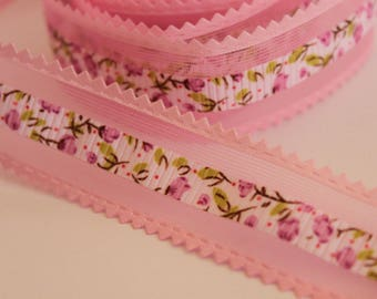 very pretty pink floral Ribbon