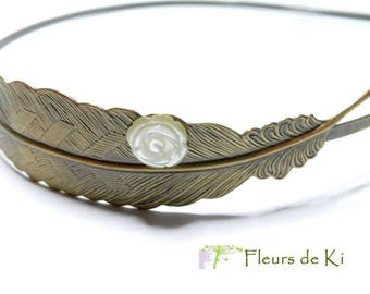 Unique Jewelry: Princess feather headband