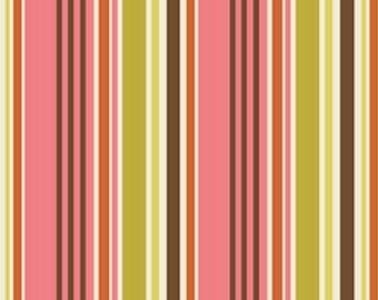 Patchwork fabric striped Indian summer by Riley Blake