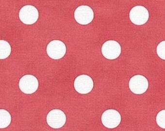 Moda dots pink patchwork fabric