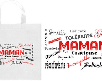 TOTE bag with the words for MOM - mother's day SPECIAL
