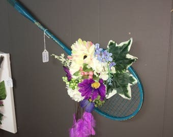 Badminton Raquet Dream Catcher