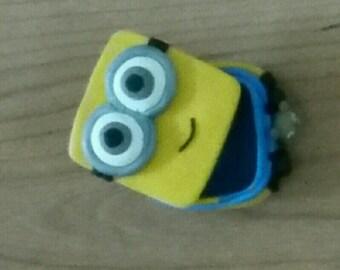 minion tooth box all Fimo