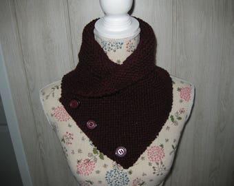 woolen snood round neck/scarf men