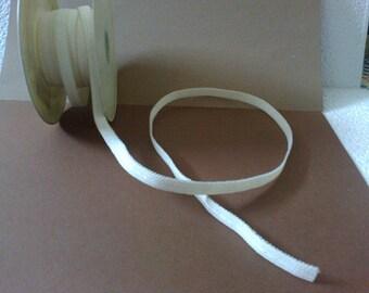 Elastic wide ecru lingerie 1 cm