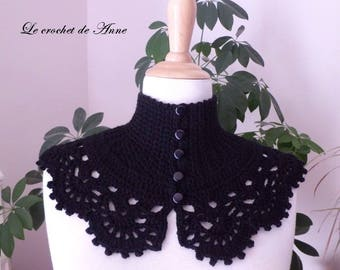 Neck-strap black, Victorian style!