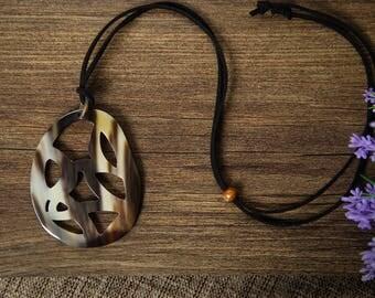 Buffalo Horn Pedant Horn Pedant Horn Jewelry Horn Accessories Horn Schmuck- TA25217