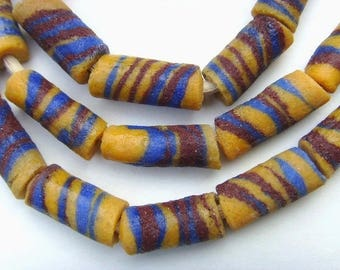 African glass paste - GB02 25 beads